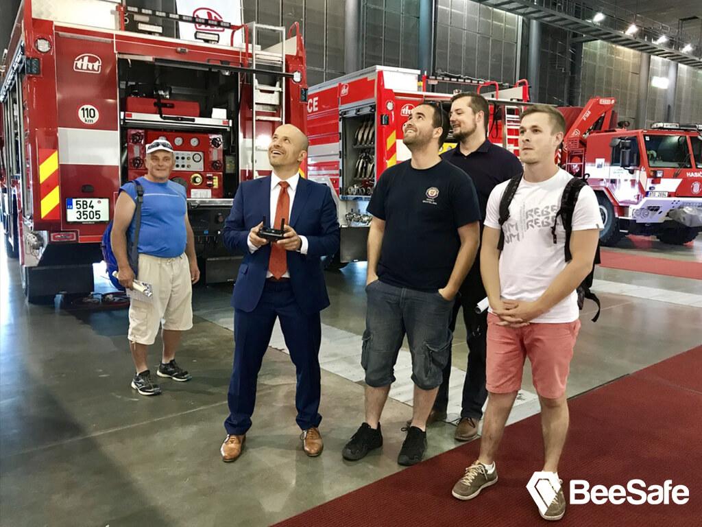 BeeSafe at ISET 2017 Brno